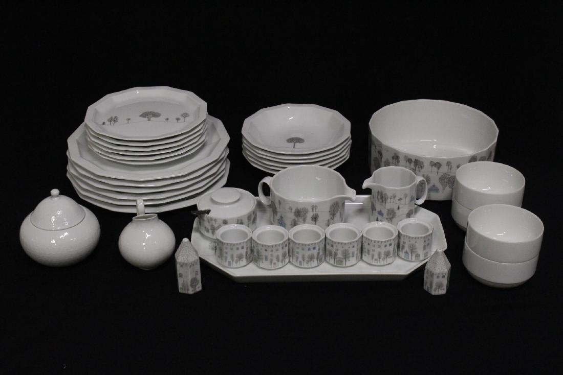 Modern design Rosenthal china set