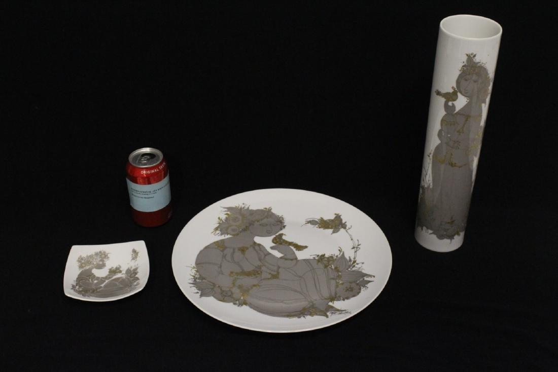 3 Rosenthal porcelain pieces
