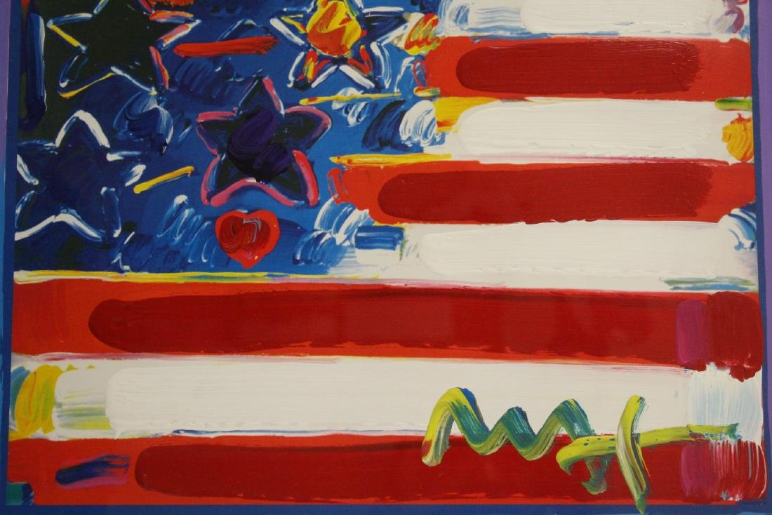 Mixed media on panel by Peter Max - 3