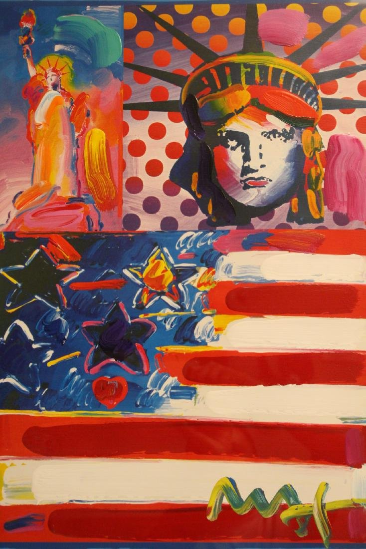 Mixed media on panel by Peter Max - 6