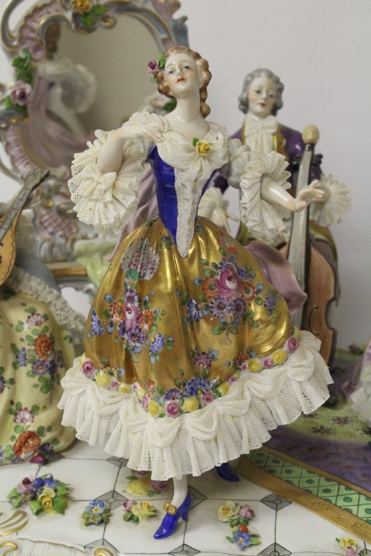Large Dresden porcelain sculpture - 3