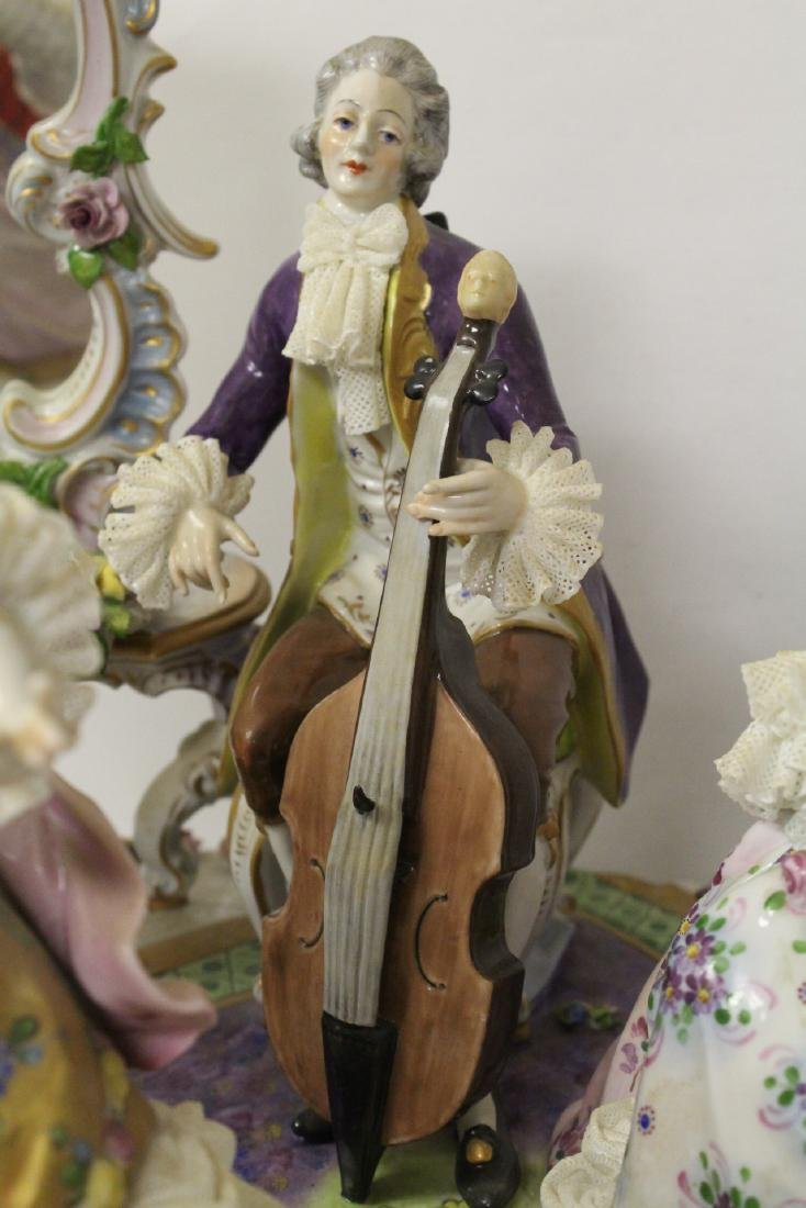 Large Dresden porcelain sculpture - 4