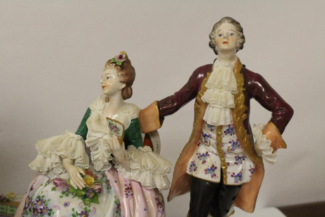 Large Dresden porcelain sculpture - 7