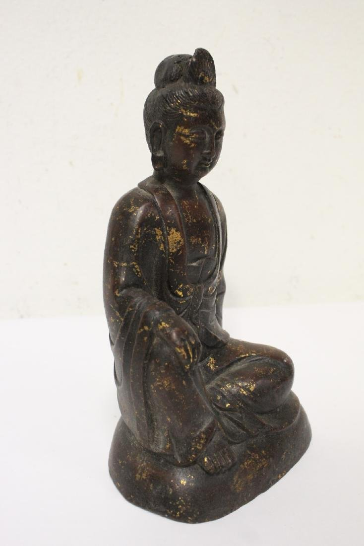 Chinese bronze sculpture of Buddha - 4