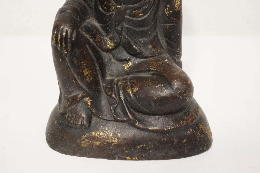 Chinese bronze sculpture of Buddha - 6