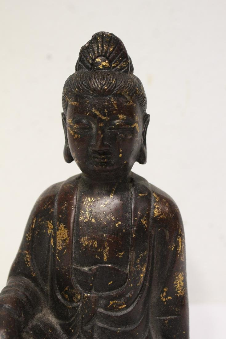 Chinese bronze sculpture of Buddha - 7