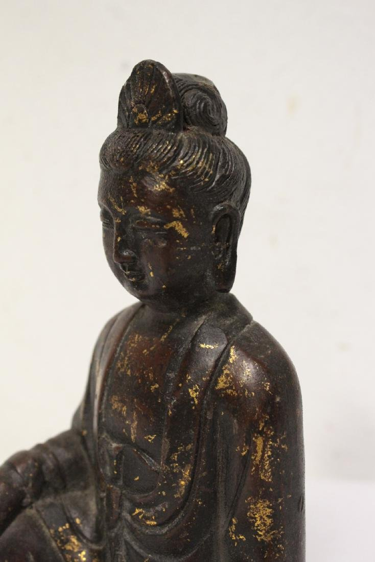 Chinese bronze sculpture of Buddha - 8