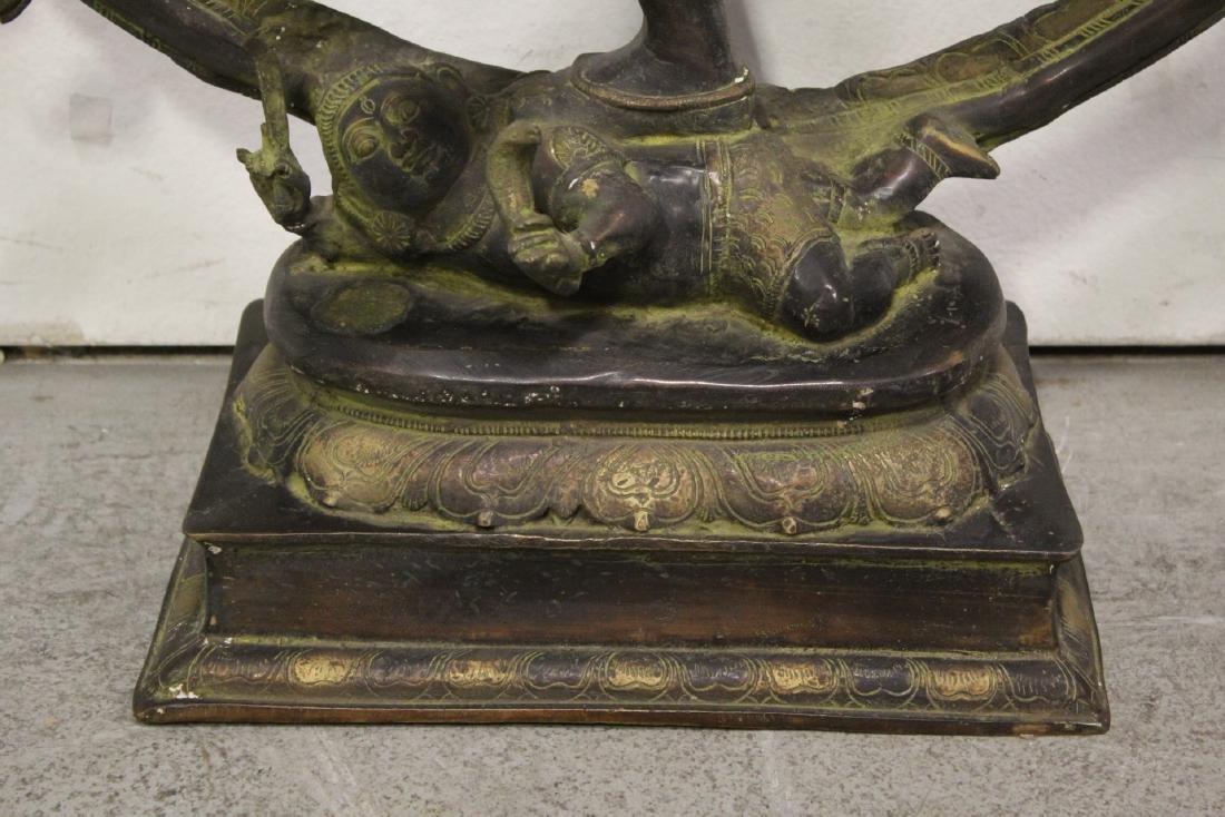 An important massive India bronze sculpture - 2