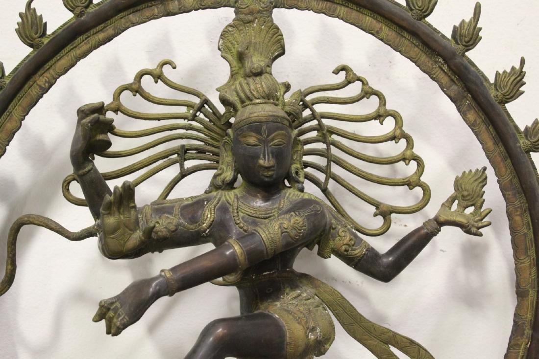 An important massive India bronze sculpture - 4