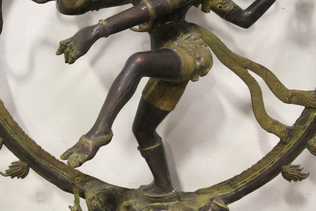An important massive India bronze sculpture - 5