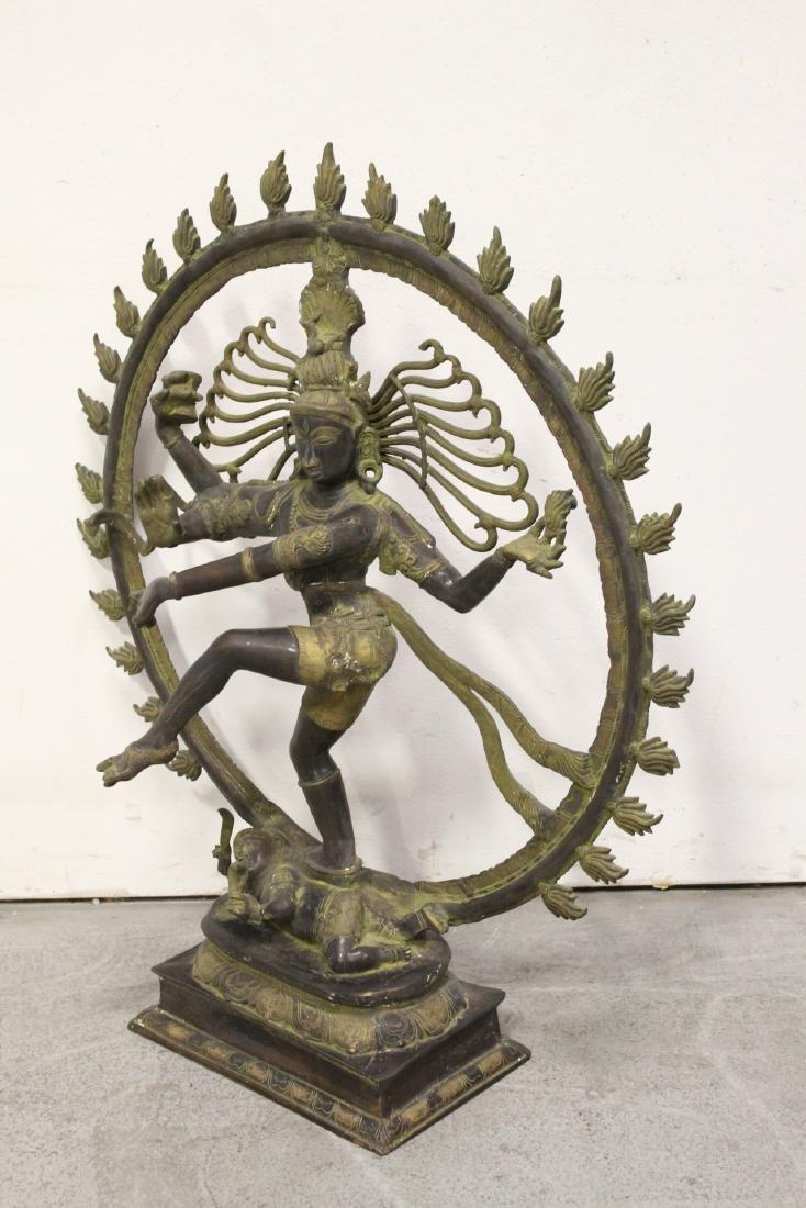 An important massive India bronze sculpture - 6