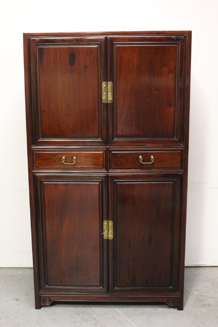 Chinese rosewood cabinet