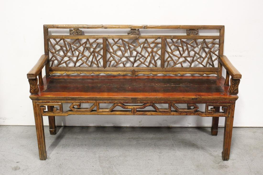 Chinese 18th/19th century bench