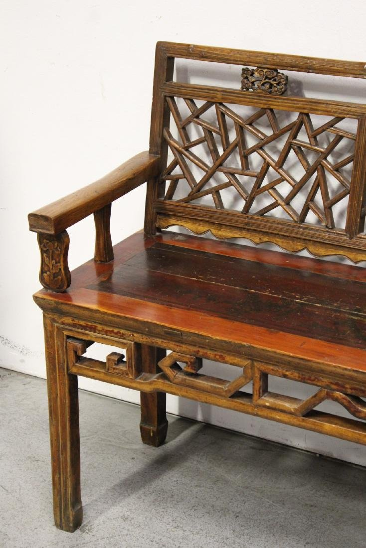 Chinese 18th/19th century bench - 3