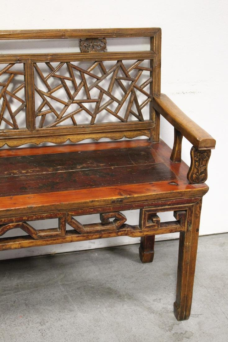 Chinese 18th/19th century bench - 4
