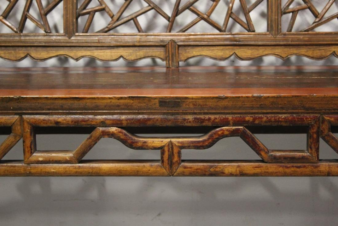 Chinese 18th/19th century bench - 5