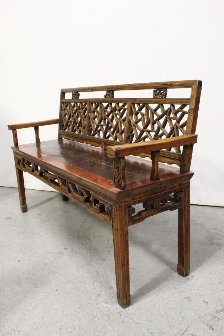 Chinese 18th/19th century bench - 6