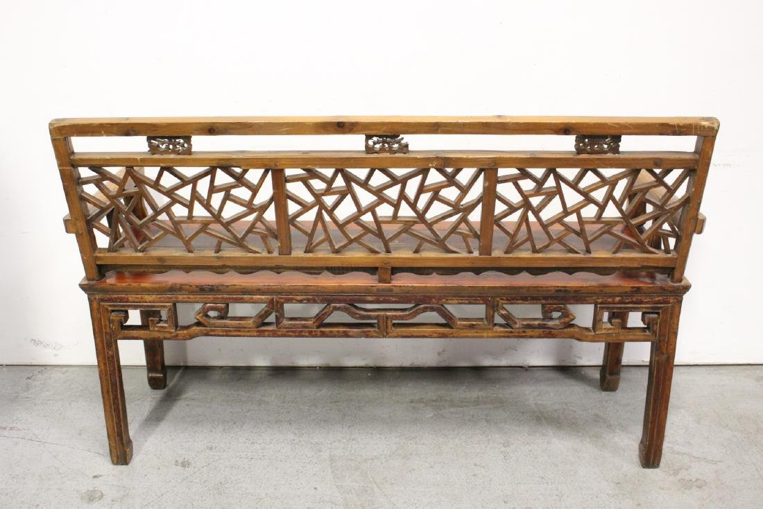 Chinese 18th/19th century bench - 7
