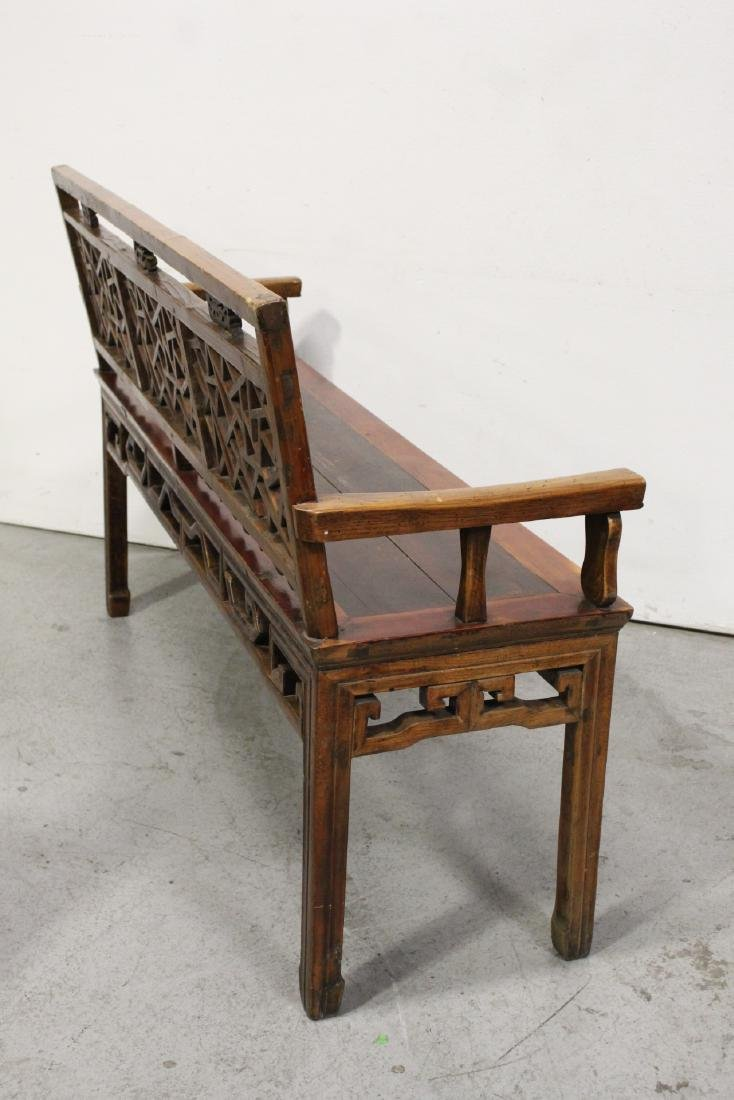Chinese 18th/19th century bench - 8