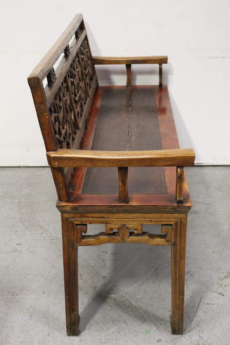 Chinese 18th/19th century bench - 9