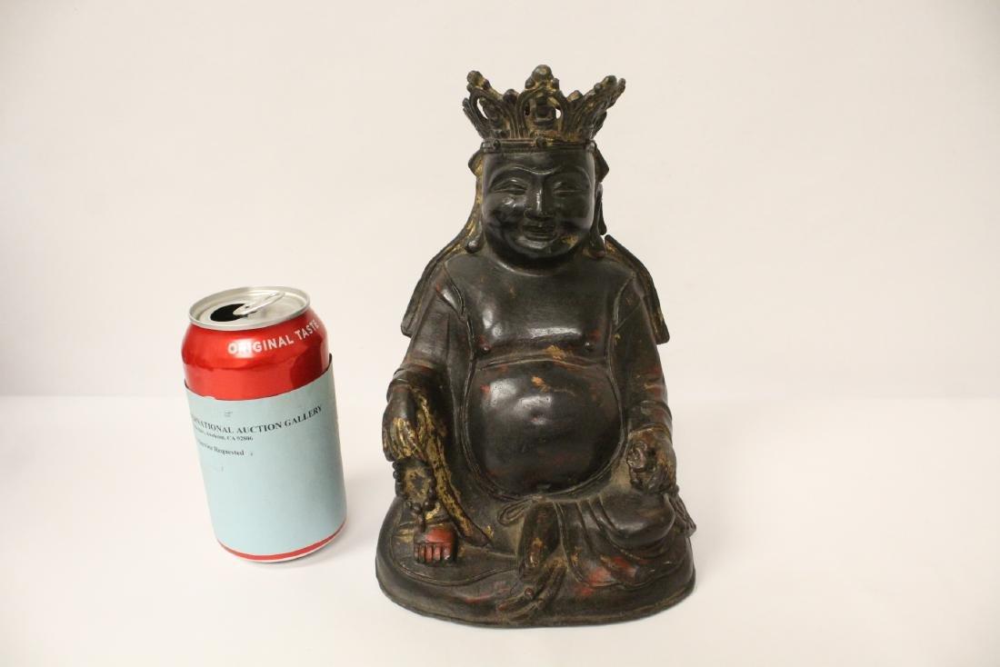 Chinese gilt bronze sculpture - 2