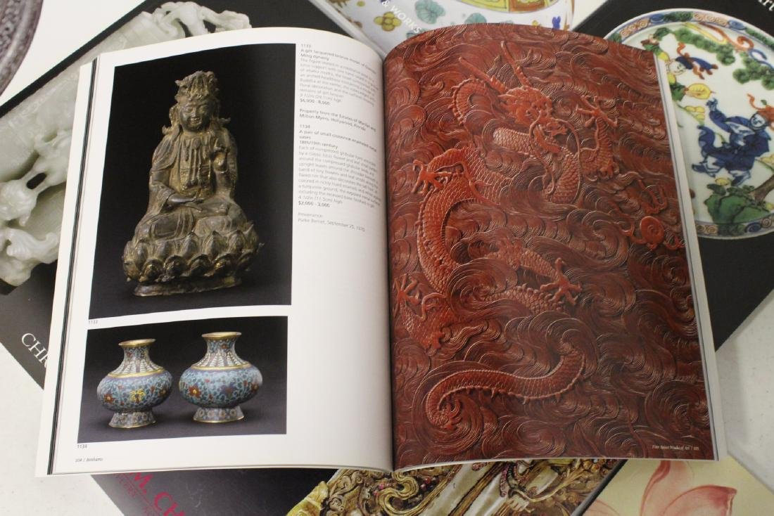 Approx. 20 vol. Chinese antique auction catalogs - 10