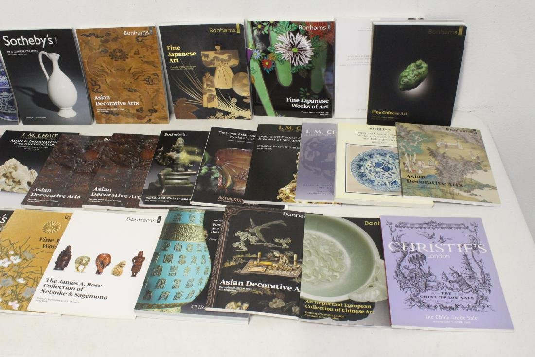 Approx. 28 vol. Chinese antique auction catalogs - 3