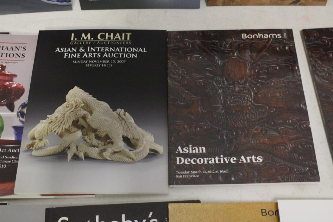 Approx. 28 vol. Chinese antique auction catalogs - 5