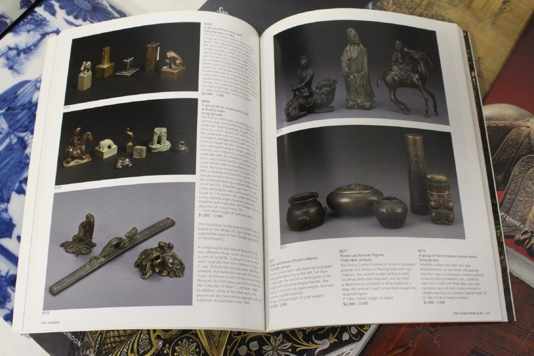 Approx. 38 vol. Chinese antique auction catalogs - 10