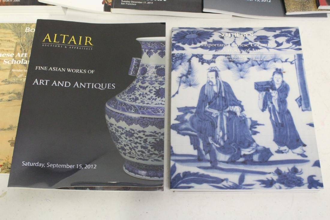 Approx. 38 vol. Chinese antique auction catalogs - 7