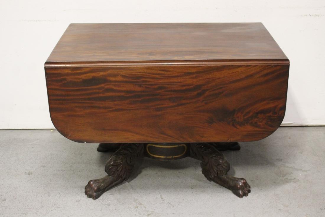Victorian mahogany dining table - 2