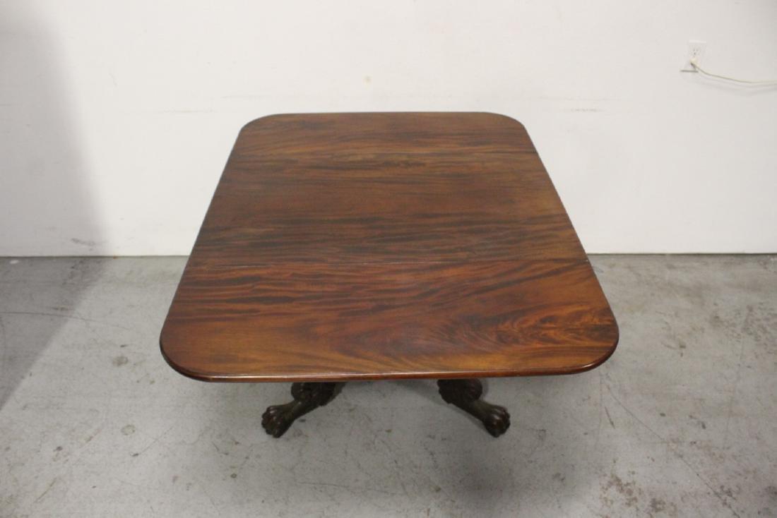 Victorian mahogany dining table - 7