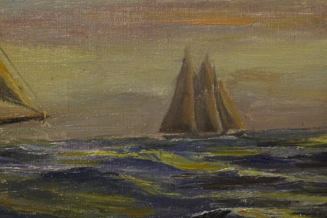 "O/b ""seascape with sail"" - 5"