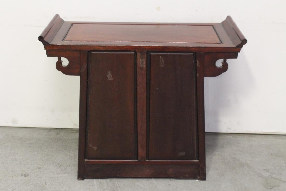 Rosewood console table - 8