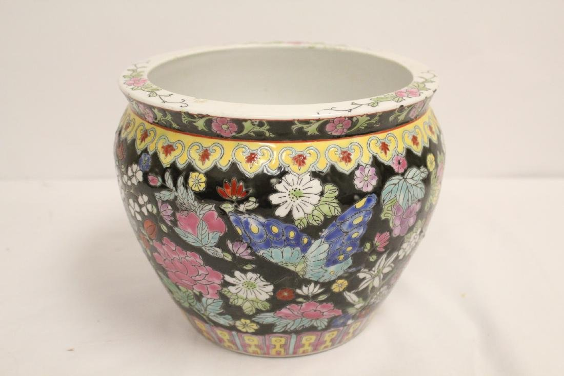 Chinese famille rose planter and misc. - 7