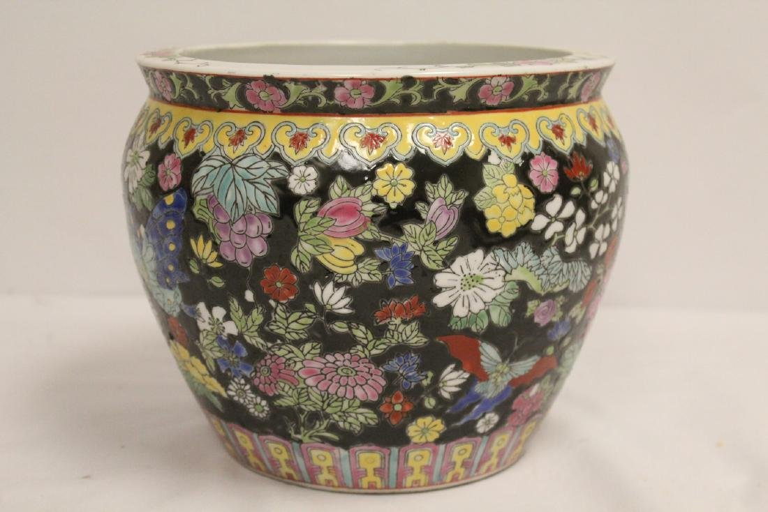 Chinese famille rose planter and misc. - 8