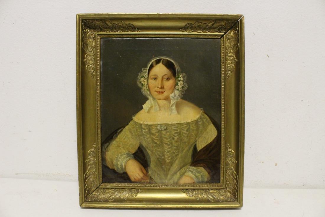 Pair 19th century o/c painting - 2
