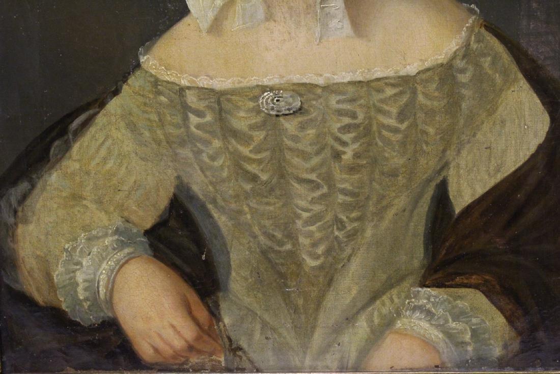 Pair 19th century o/c painting - 3