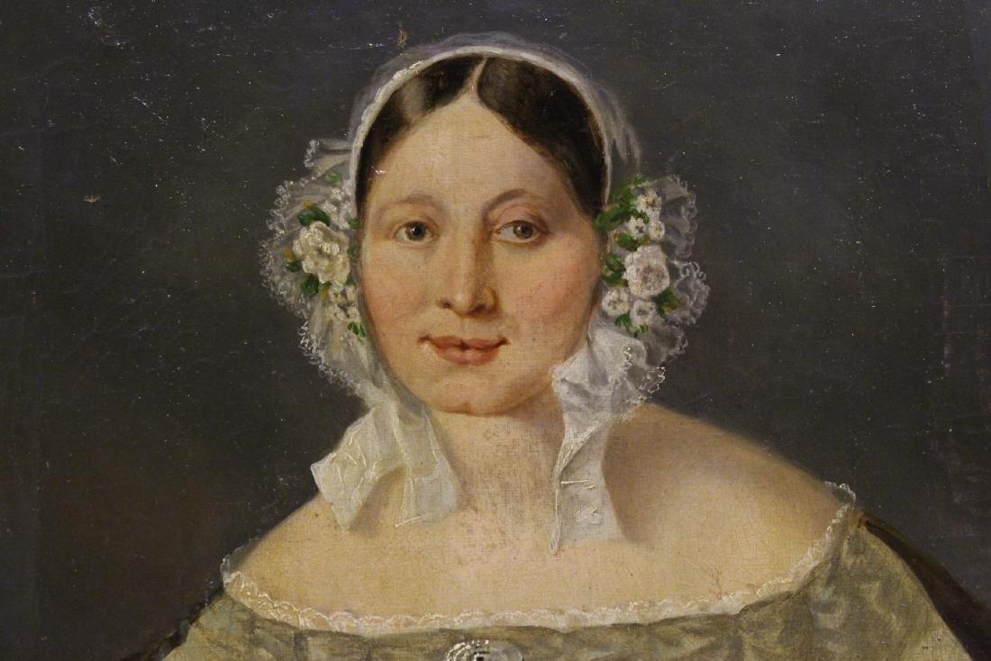 Pair 19th century o/c painting - 4