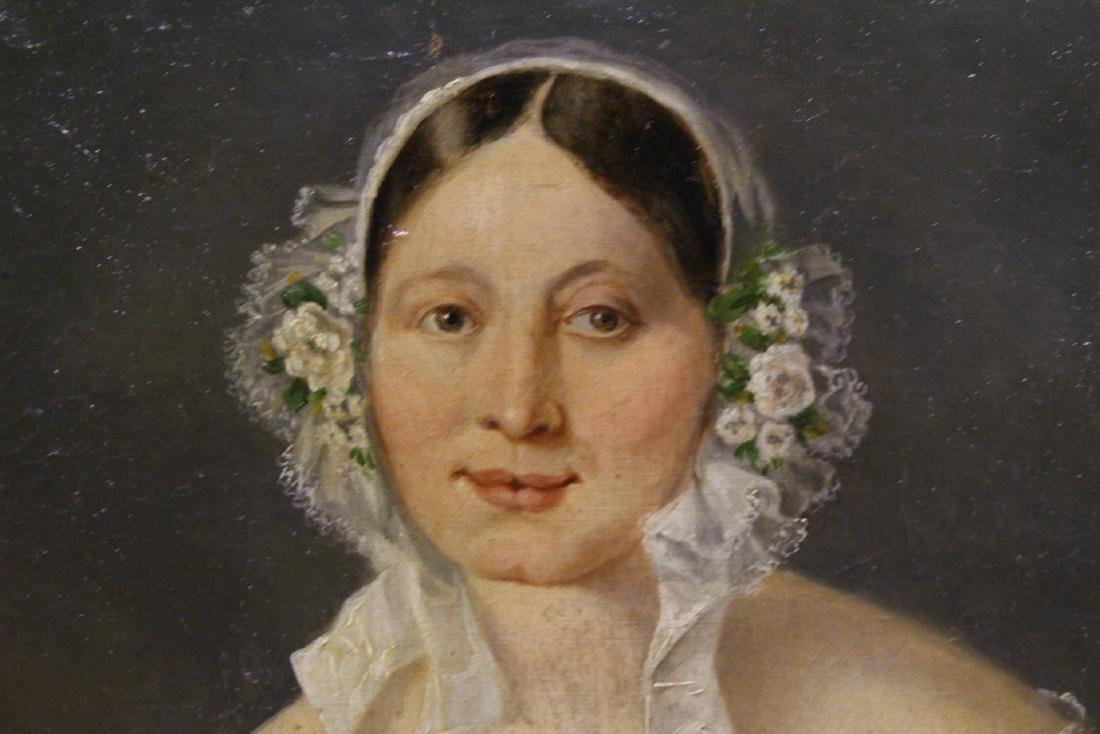 Pair 19th century o/c painting - 5
