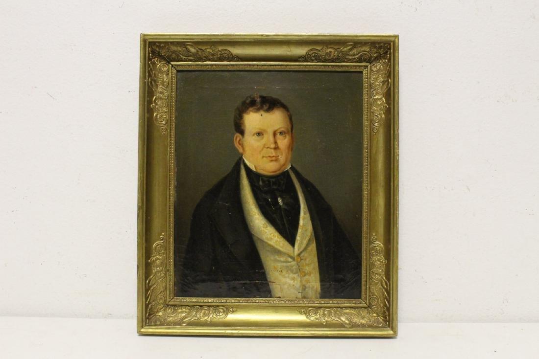 Pair 19th century o/c painting - 6