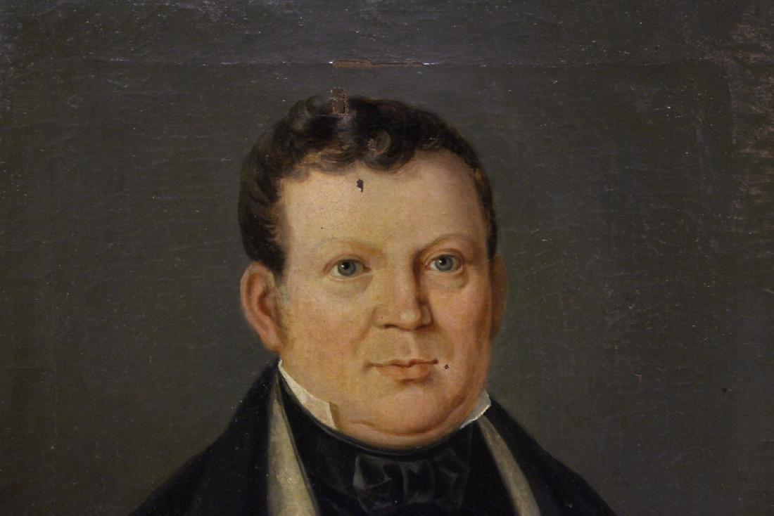 Pair 19th century o/c painting - 8