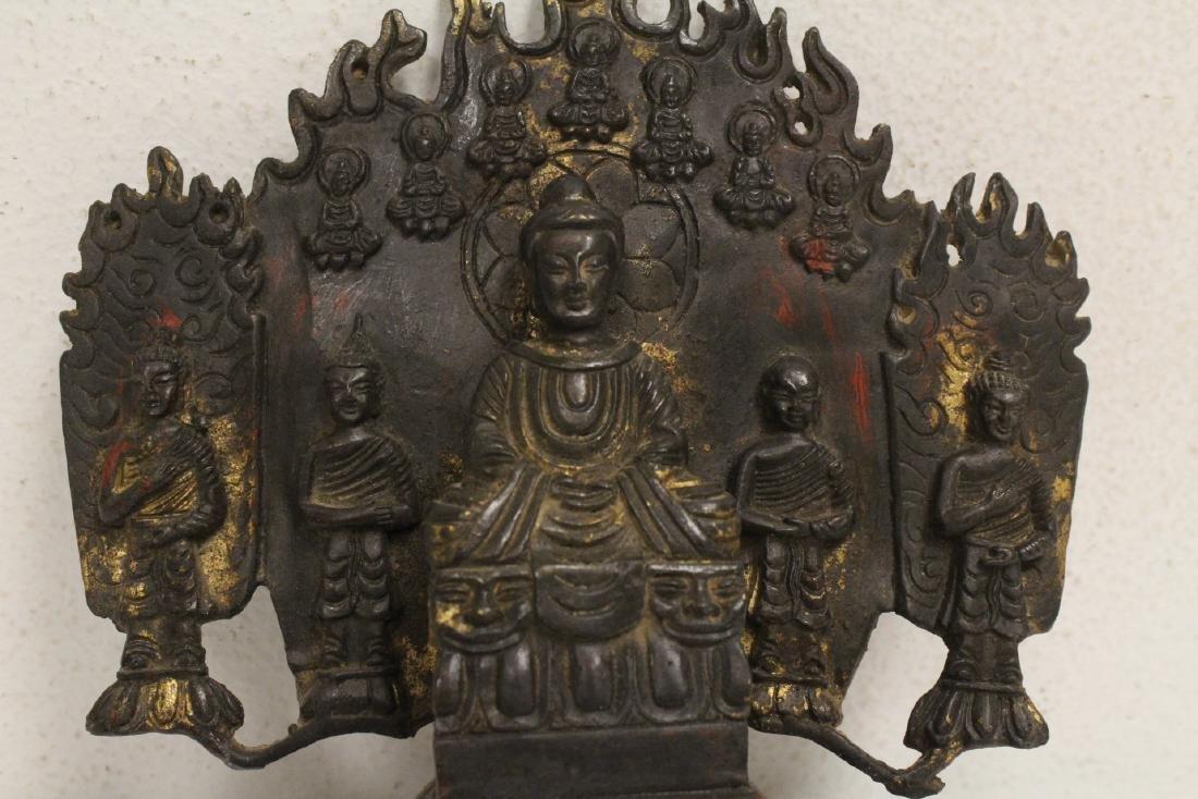 Chinese bronze sculpture of Buddha - 10