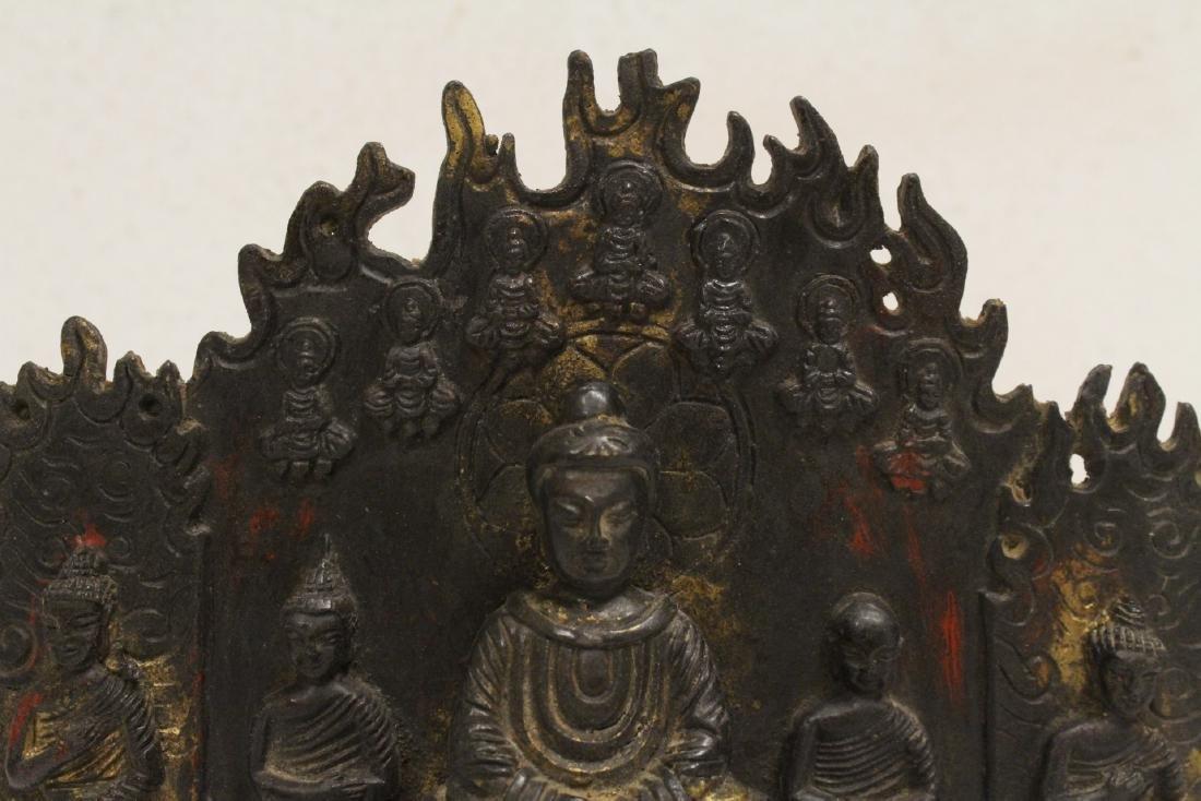 Chinese bronze sculpture of Buddha - 6