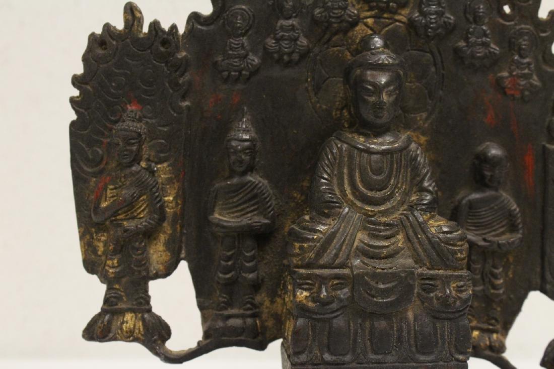 Chinese bronze sculpture of Buddha - 7