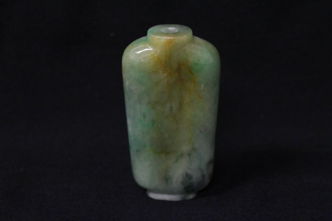 Chinese jadeite snuff bottle - 5