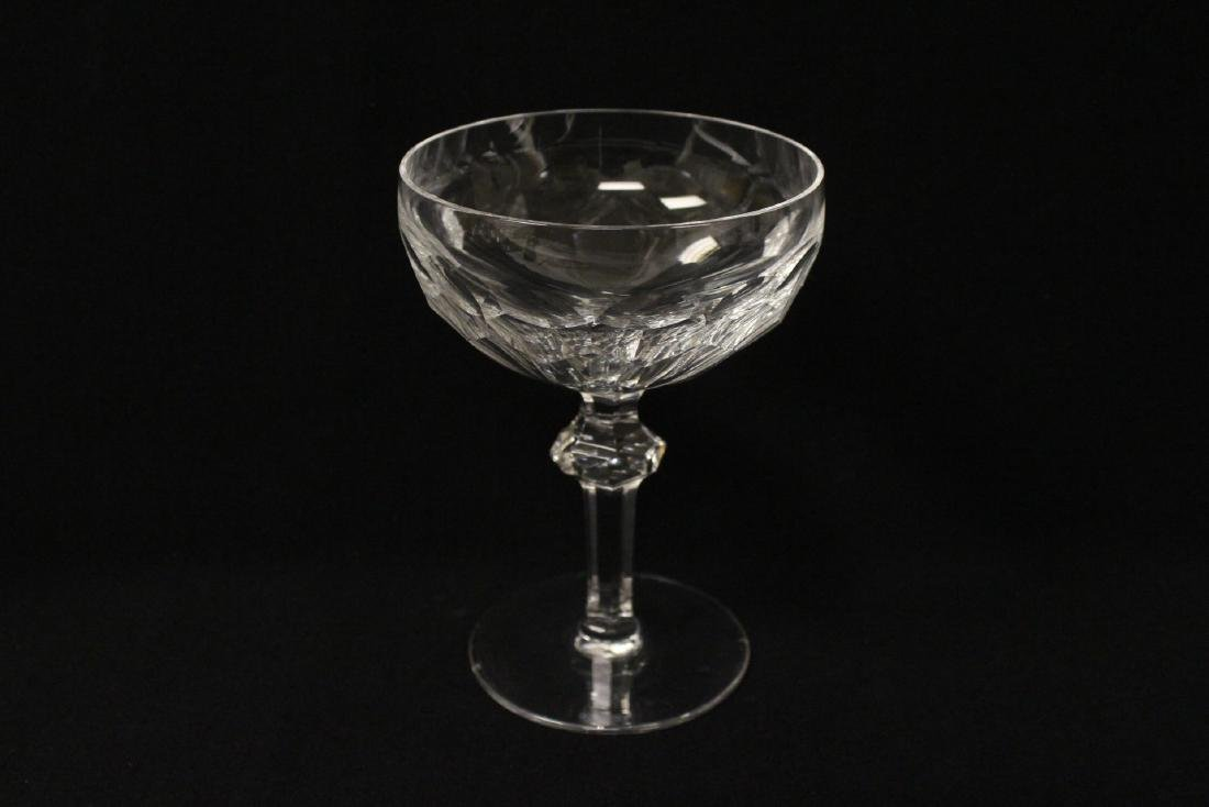 Set of 24 Waterford crystal goblet set - 10