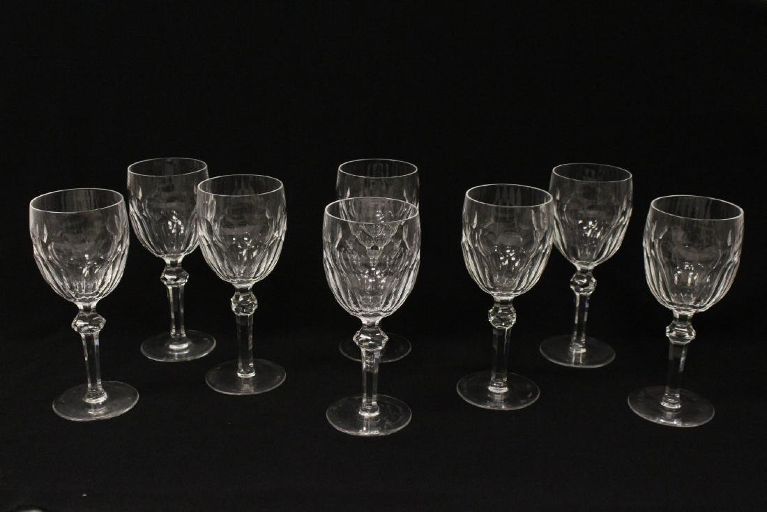 Set of 24 Waterford crystal goblet set - 2