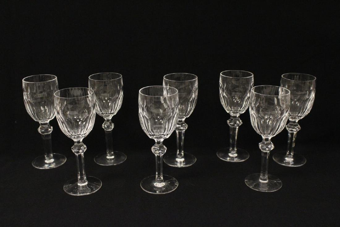 Set of 24 Waterford crystal goblet set - 6