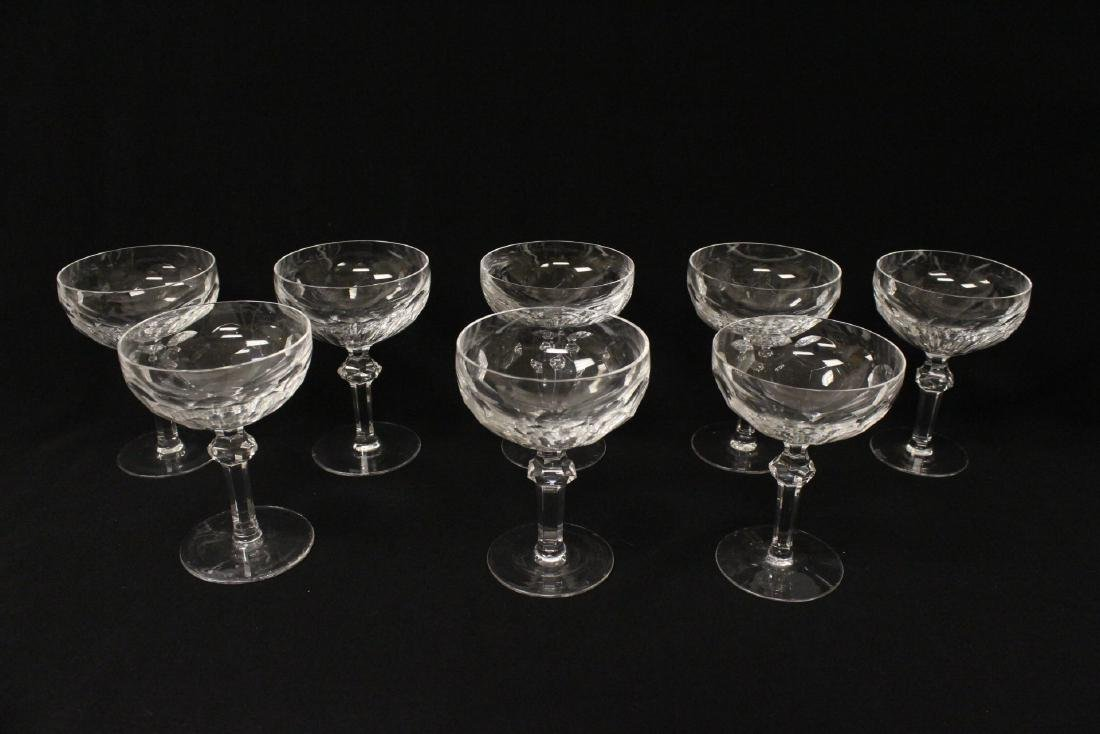 Set of 24 Waterford crystal goblet set - 9